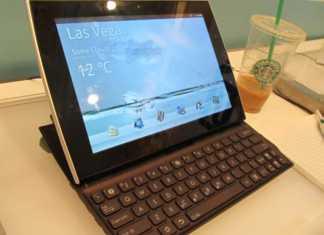 Prix et disponibilité de la tablette tactile Asus EeePad Slider