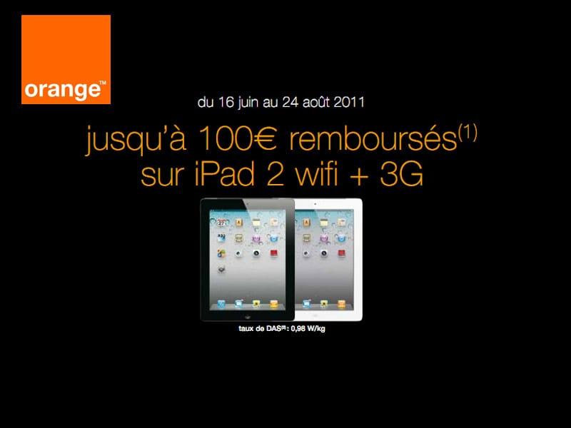 orange annonce un remboursement de 100 sur les tablettes. Black Bedroom Furniture Sets. Home Design Ideas
