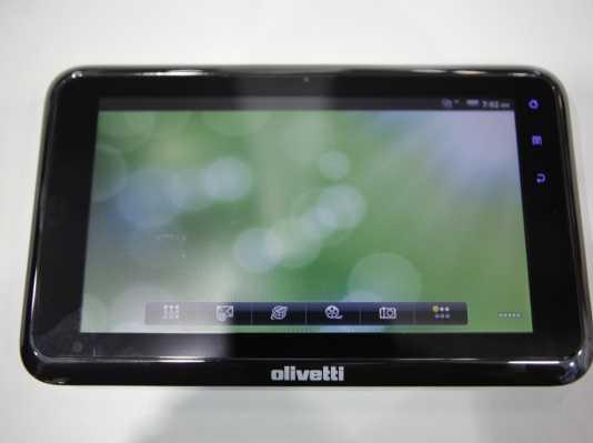 Olivetti : une nouvelle tablette tactile au format 7 pouces 2