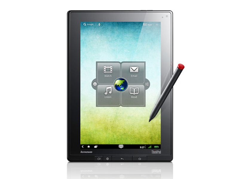la tablette tactile lenovo thinkpad tablet disponible aux usa pour 499. Black Bedroom Furniture Sets. Home Design Ideas