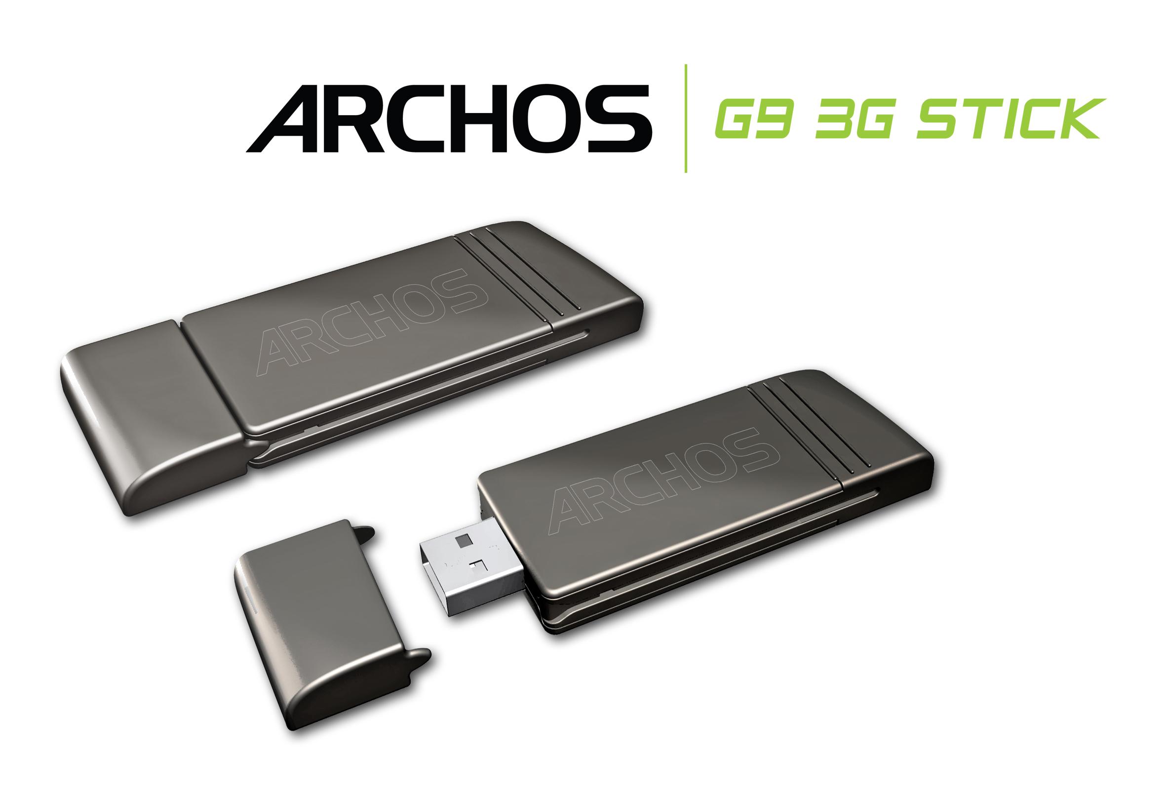 Archos G9 : un accord avec l'opérateur SFR pour la distribution de sa clé 3G 5