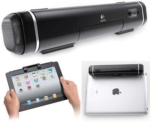 """Enceintes pour tablettes tactiles : Logitech lance un haut-parleur amovible """"Tablet Speaker"""" 6"""