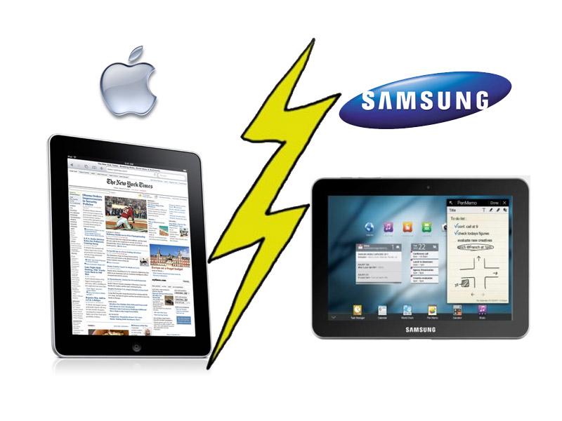 Apple tente d'interdire la vente du Galaxy Tab 10.1 en Europe