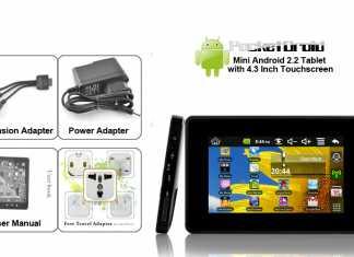 PocketDroid : Une tablette Android de 4,3 pouces à seulement 44 euros ? 2