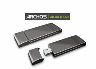 Clé 3G Archos G9 : Test de la clé Archos G9 3G Stick