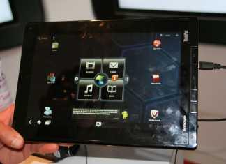 Lenovo ThinkPad Tablet : Démonstration vidéo au salon de l'IFA  1