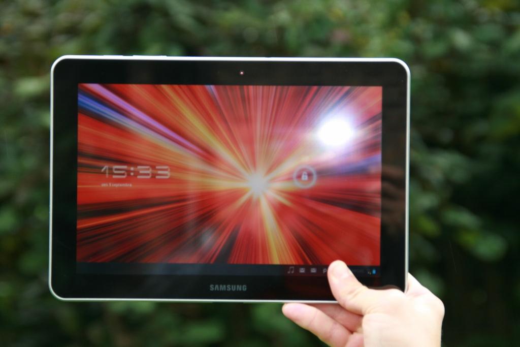 Test complet de la tablette Samsung Galaxy Tab 10.1