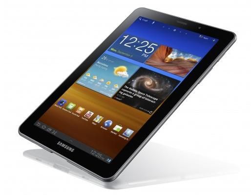 Samsung galaxy tab 7 7 samsung d voile sa nouvelle for Fond ecran tablette samsung