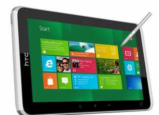 HTC travaille sur une tablette tactile sous Window 8