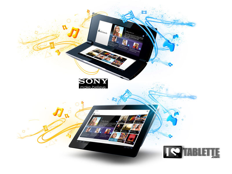 Les tablettes Sony sont officielles : Sony Tablet S et Sony Tablet P