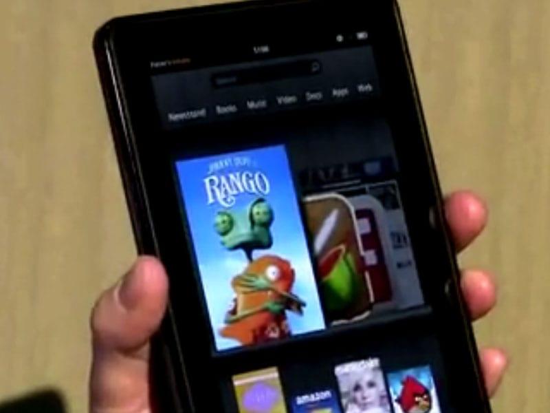 Test de la Tablette Amazon Kindle Fire par le PDG d'Amazon