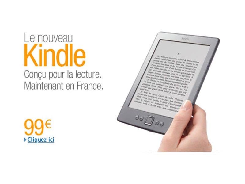 Acheter l'Amazon Kindle en France au prix de 99€ !