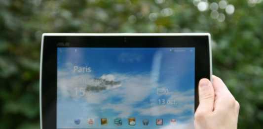 Test complet de la tablette Asus Eee Pad Slider SL101 5