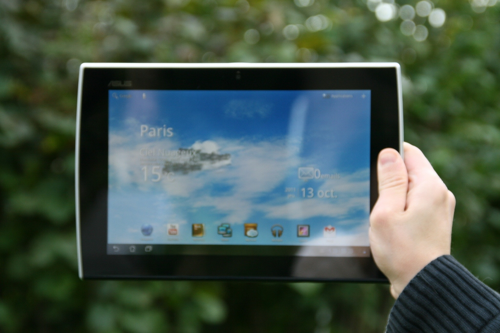 Tablette Asus Eee Pad Slider : mise à jour vers Android 4.0