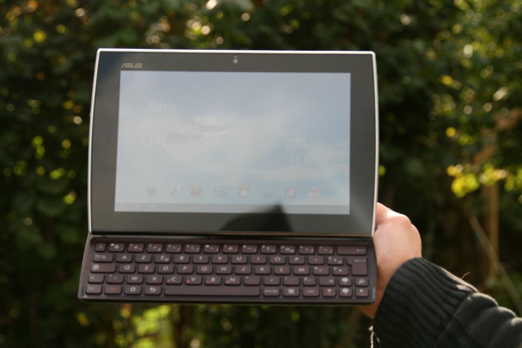 Test complet de la tablette Asus Eee Pad Slider SL101