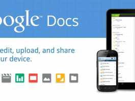 L'application Google Docs disponible pour les tablettes Android Honeycomb 2