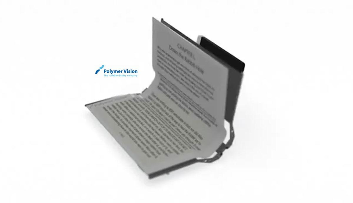 Une liseuse électronique pliable en prévision chez Polymer Vision