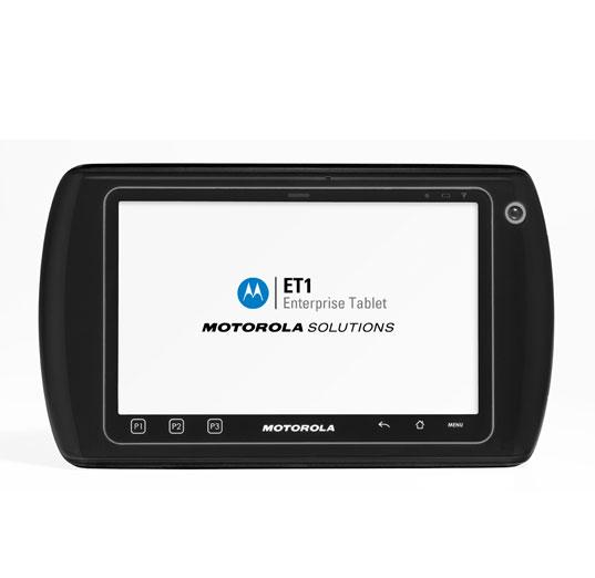 Motorola ET1 : une tablette tactile pour les professionnels et les entreprises