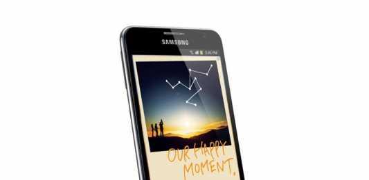 Première pub de la tablette Samsung Galaxy Note