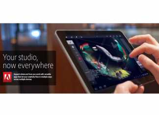 Les applications Adobe Touch pour tablettes Android sur l'Android Market ! 8
