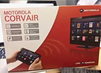 Motorola Corvair : tablette tactile et télécommande universelle de la Google TV ? 1