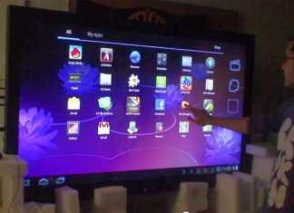 Ardic présente une tablette tactile Android de 65 pouces, soit environ 160 centimètres !