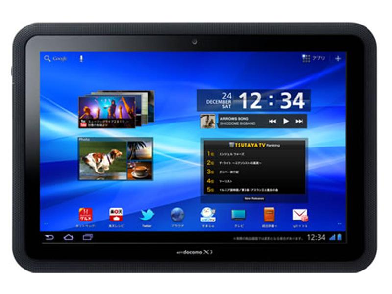 Fujitsu Arrows Tab : une tablette tactile waterproof