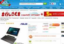 Baisse des prix sur la Asus Eee Pad transformer chez RueduCommerce.com