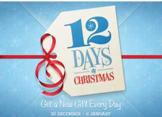 """Application iPad """"Les 12 jours de cadeaux"""" : chaque jour un nouveau cadeau ! 1"""