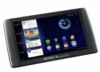 Archos lance une nouvelle tablette, la Archos 70b sous Android 3.2 HoneyComb