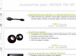 Des enceintes pour les tablettes tactiles Archos : Round Stereo Speakers