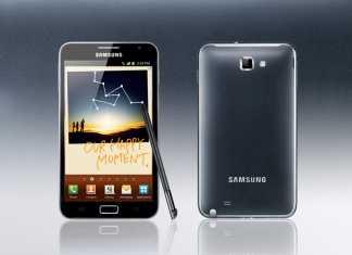 Samsung Galaxy Note : Forfait disponible avec NRJ Mobile 2