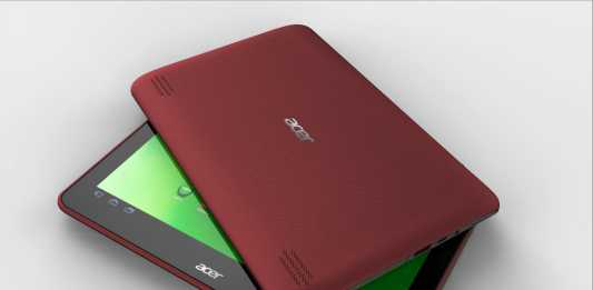 Acer Iconia Tab A200 : la tablette Android Iconia Tab A200 officielle ! 1
