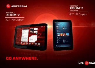 Les tablettes Motorola Xoom 2 et Xoom 2 Media Edition disponibles à l'achat
