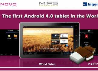 Novo7 : la première tablette tactile sous Android Ice Cream Sandwich 2