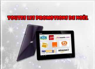 Promo Tablette : toutes les promotions tablettes tactiles pour vos achats de Noël