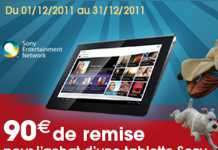 Promos Tablettes tactiles Sony S & P : 90€ de remise immédiate 4