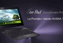 Asus Eee Pad Transformer Prime 64 Go disponible à l'achat !