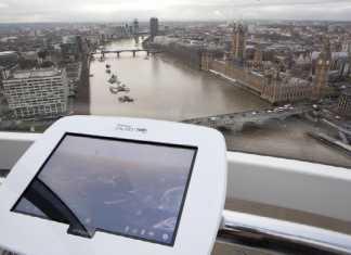 Des Samsung Galaxy Tab 10.1 au service des touristes dans la plus grande roue d'Europe à Londres 4