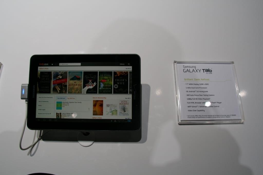 Samsung Galaxy Tab 7.7 : la première tablette tactile avec un écran Super AMOLED Plus au CES !