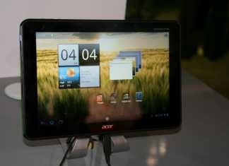 Tablette Acer Iconia Tab A510 : quelques photos lors du CES 2012 1