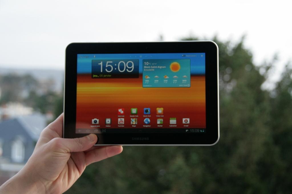 Test complet de la tablette Samsung Galaxy Tab 8.9