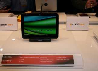 Toshiba Excite X10 / AT200 au CES 2012 : seulement 7,7 mm d'épaisseur ! 1