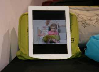 CES 2012 : Accessoire BOSIGN Tablet pillow  2