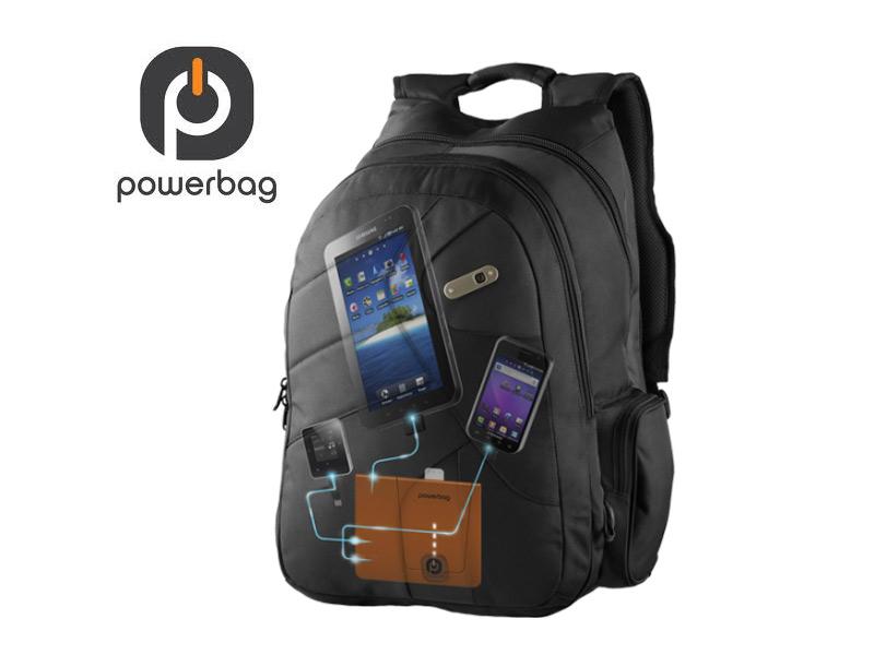 CES 2012 : Accessoire PowerBag Backbag collection,sac à dos chargeur pour tablette tactile