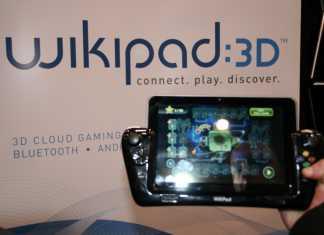WikiPad : la tablette tactile 3D sans lunettes sous Android ICS en images et vidéo au CES 1