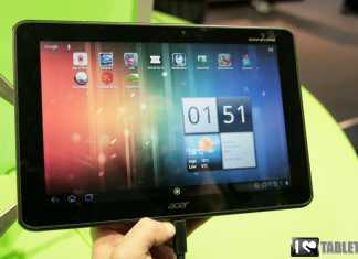 Acer Iconia Tab A510 : photos et caractéristiques de l'Iconia Tab A510 au MWC 15