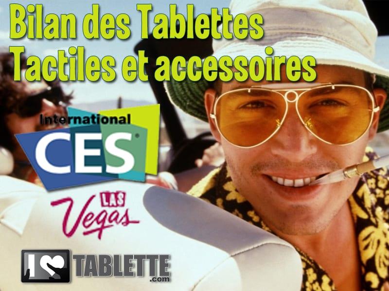 BILAN du CES de Las Vegas 2012 : côté tablette tactile et accessoires