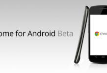 Le navigateur Google Chrome pour Android est disponible en version bêta 5