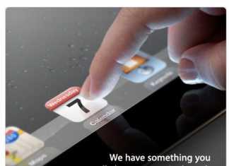 La date de sortie de l'iPad 3 c'est pour le 7 mars prochain !